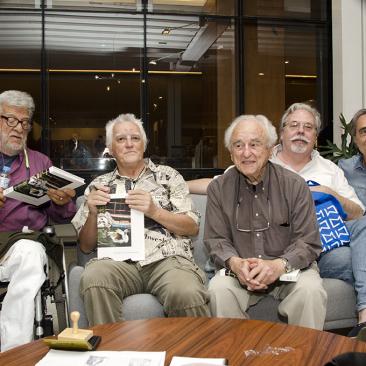 com Fernando Lemos, German Lorca e Juan Esteves