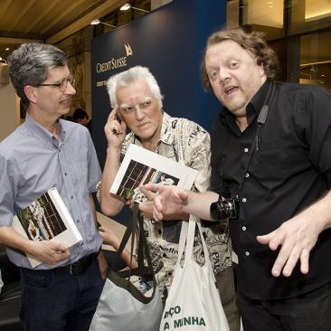 com Mauricio Puls e Fausto Chermont