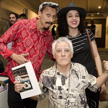 com José Carlos Dos Santos e Maria Carolina M Silva