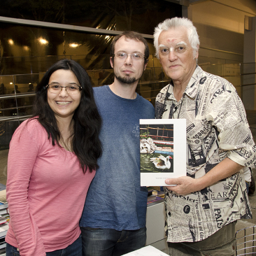 com Adriana Miyazaki e Guilherme Barile