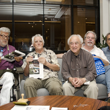 com Fernando Lemos, German Lorca e Juan Esteves