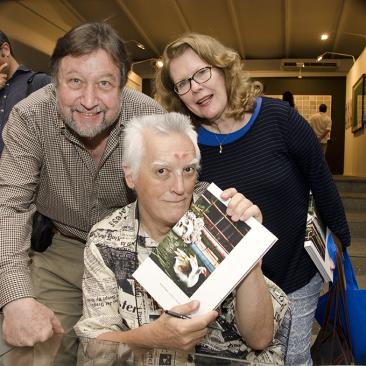 com Eduardo e Tamara Barile